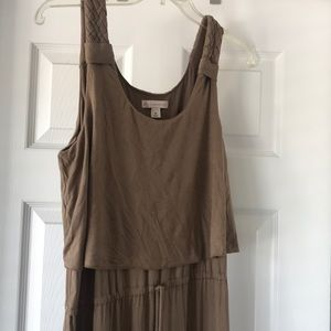 Dress Barn Brown Maxi-Dress